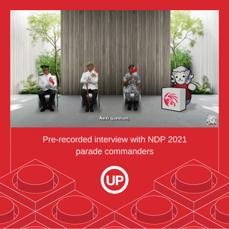 NDP 2021 Interview with parade commanders