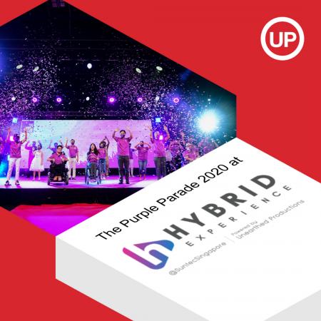 The Purple Parade 2020 at Hybrid Experience @ Suntec Singapore